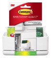 Command Under Sink Sponge Caddy, 1-Caddy, 4-Medium Strips + 1 Scotch-Brite Sponge Included (17609-HWES)