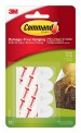 Command Poster Strip (White, Pack of 4)