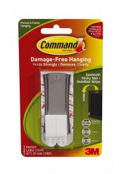 Command Sticky Nail Sawtooth Hanger, 5-Pound