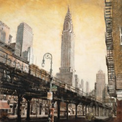 The Chrysler Building from the L